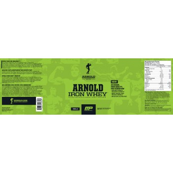 Arnold Series Iron Whey 2270 грамм