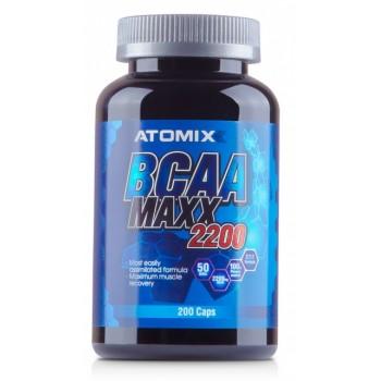 Atomixx BCAA MAXX 2200 200 капсул