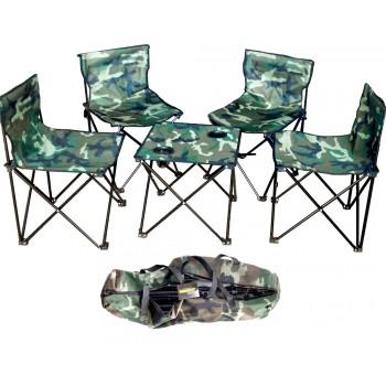Туристический набор (4 стульчика, 1 стол)
