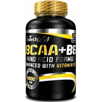BioTech BCAA+B6 100 таблеток
