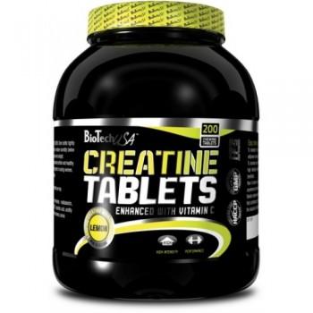 BioTech CREATINE TABLETS 200 таблеток