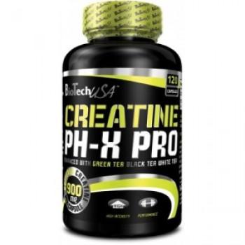 BioTech Creatine ph-x PRO 120 капсул
