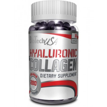 BioTech HYALURONIEC&COLLAGEN 30 капсул