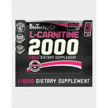 BioTech L-Carnitine 2000 20*25 мл