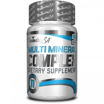 BioTech Multi Mineral Complex 100 таблеток
