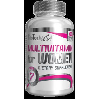 BioTech Multivitamin For Women 60 таблеток