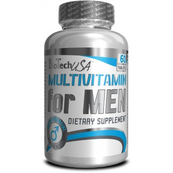 BioTech Multivitamin for men 60 таблеток
