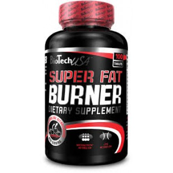 BioTech SUPER FAT BURNER 120 таблеток