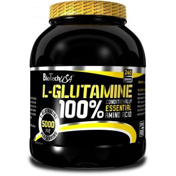 BioTech L-Glutamine 240 грамм