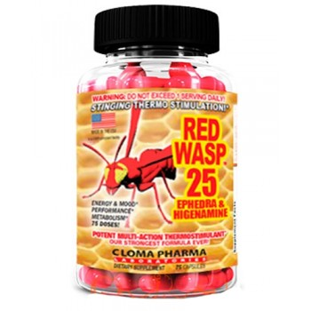Cloma Pharma Red Wasp 75 капсул