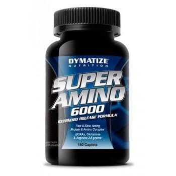 Dymatize Super amino 6000 180 капсул