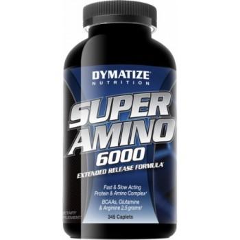 Dymatize Super amino 6000 345 капсул