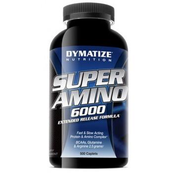 Dymatize Super amino 6000 500 капсул