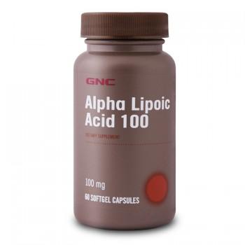 GNC ALPHA LIPOIC ACID 100 60 капсул