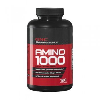 GNC AMINO 1000 120 капсул