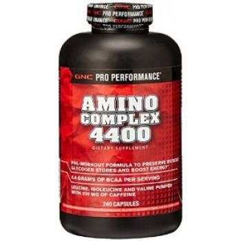 GNC AMINO  COMPLEX 4400 240 капсул