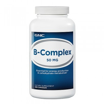 GNC B-COMPLEX 50 250 капсул
