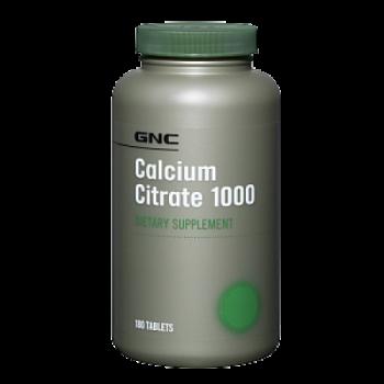 GNC CALCIUM CITRATE 1000 180 капсул