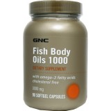 GNC FISH BODY OILS 1000 90 капсул