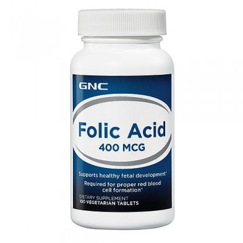 GNC FOLIC ASID 400 100 таблеток