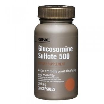 GNC GLUCOSAMINE 500 90 капсул