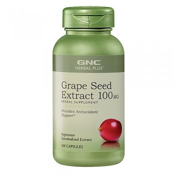 GNC GRAPE SEED 100 100 капсул