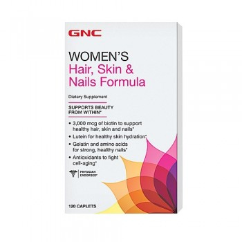 GNC HAIR, SKIN AND NAILS 120 капсул