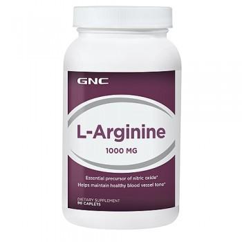 GNC L-ARGININE 1000 90 капсул