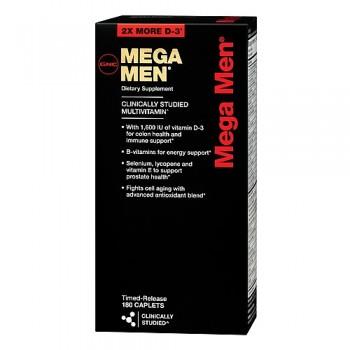 GNC MEGA MEN 180 капсул