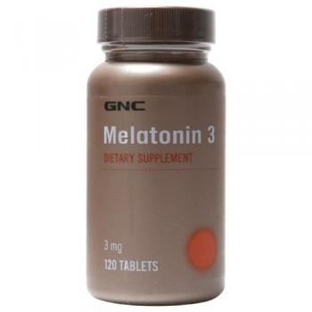 GNC MELATONIN 3 120 капсул