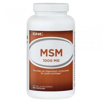 GNC MSM 1000 180 капсул