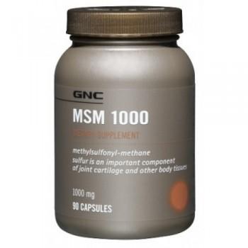GNC MSM 1000 90 капсул