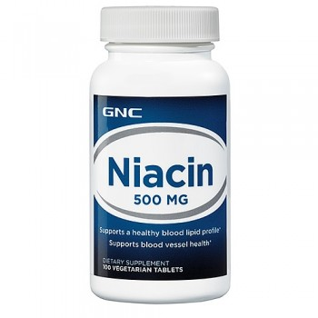 GNC NIACIN 500 100 капсул