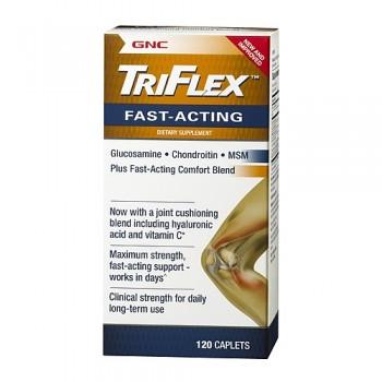 GNC TRIFLEX FAST ACTING 120 капсул