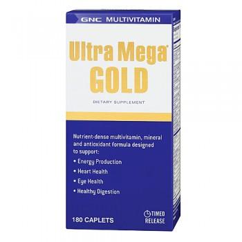 GNC ULTRA MEGA GOLD 180 капсул
