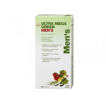 GNC UM GREEN MENS MULTIVITAMIN 120 капсул
