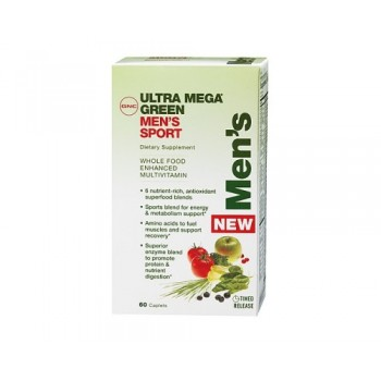 GNC UM GREEN MENS MULTIVITAMIN 60 капсул