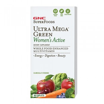 GNC UM GREEN WOMENS ACTIVE 60 капсул