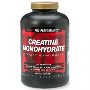 GNC UNFLAV CREATINE POWDER 500 грамм