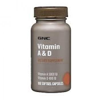 GNC VIT A&D 100 капсул