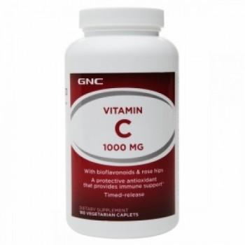 GNC VIT C 1000 ROSE HIPS 100 таблеток