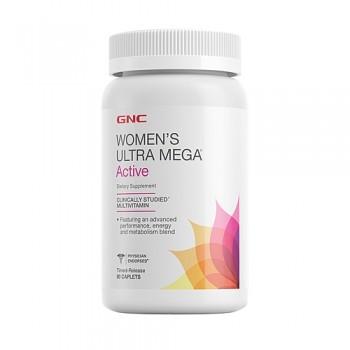 GNC WOMENS ULTRA MEGA ACTIVE 90 капсул