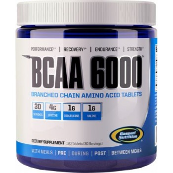 Gaspari BCAA 6000 180 таблеток