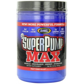 Gaspari Super Pump Max 640 грамм