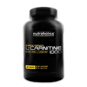 NutraBolics L-Carnitine 1000 180 капсул