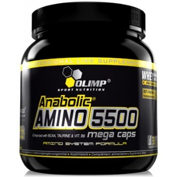 Olimp Anabolic amino 5500 mega caps 400 капсул