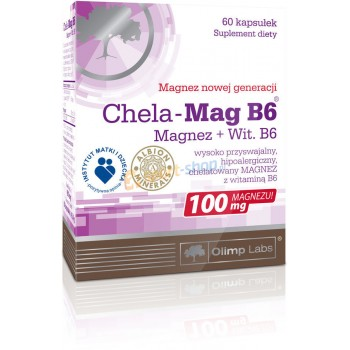 Olimp Chela Mag B6 60 капсул