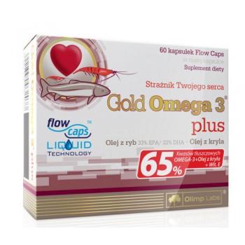 Olimp Gold Omega-3 65 % 60 капсул