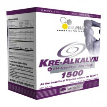 Olimp Kre-Alkalyn 1500 120 капсул