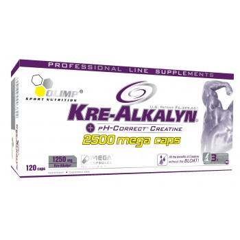Olimp Kre-Alkalyn 2500 Mega Caps 120 капсул